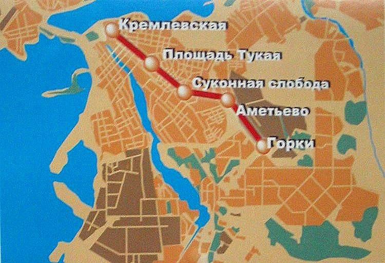 Планы развития метро согласно